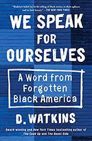 We Speak for Ourselves Book